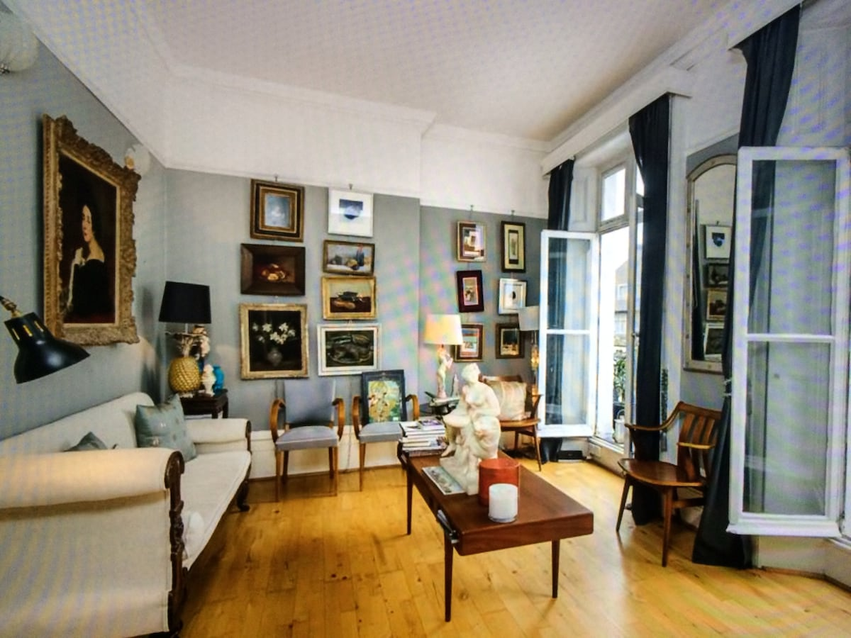 Chic Large 1bd flat in Chelsea