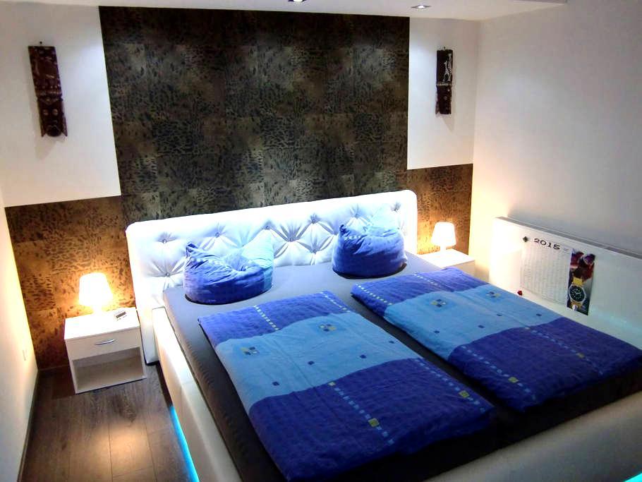 Wohnung im Souterrain + WLAN + SKY + Bundesliega - Berkholz-Meyenburg - 아파트