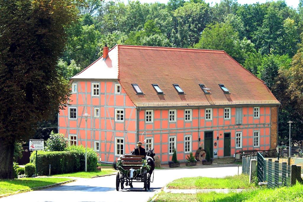Ferienwohnung in Wassermühle - Nordwestuckermark