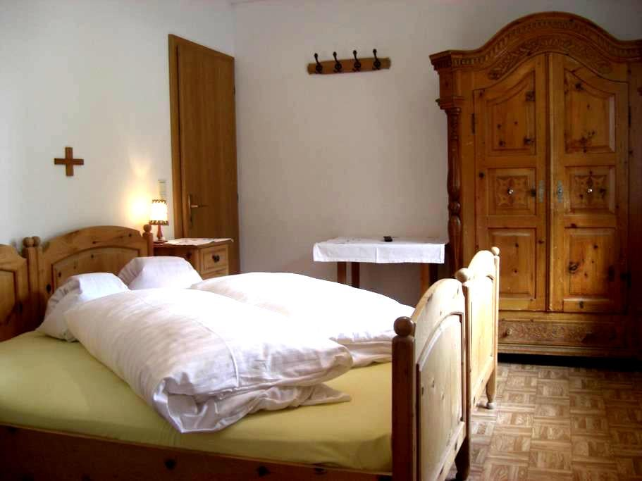 double room with bath - Gsiesertal