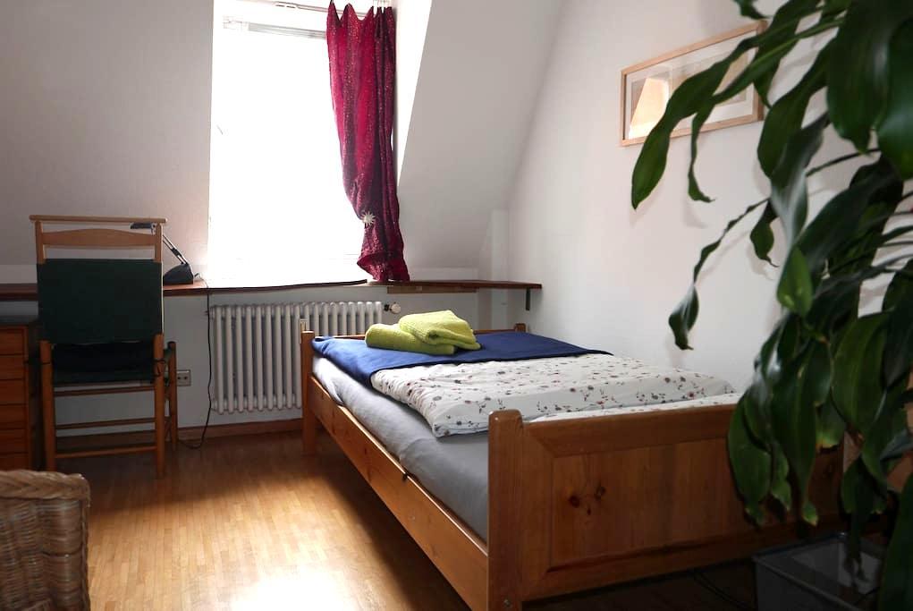Kleines Privatzimmer, ruhig und zentral - Freiburg im Breisgau - Wohnung