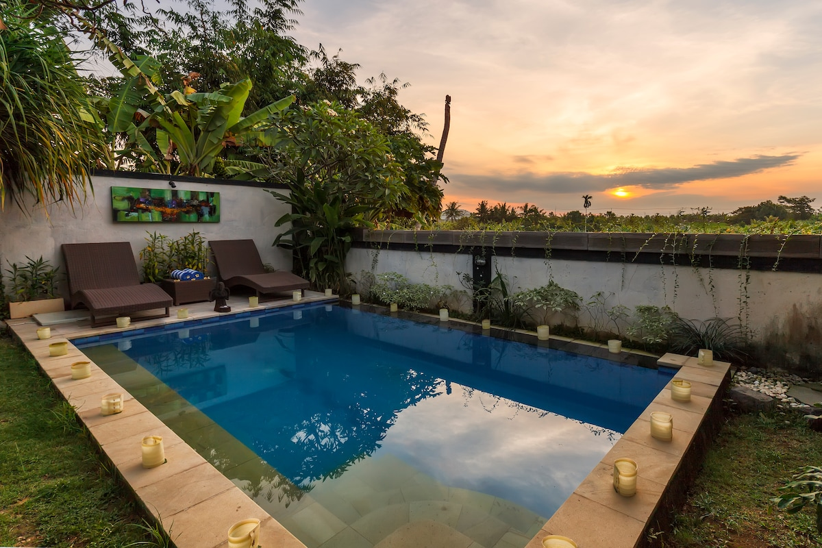 Exclusive & Private villa in canggu