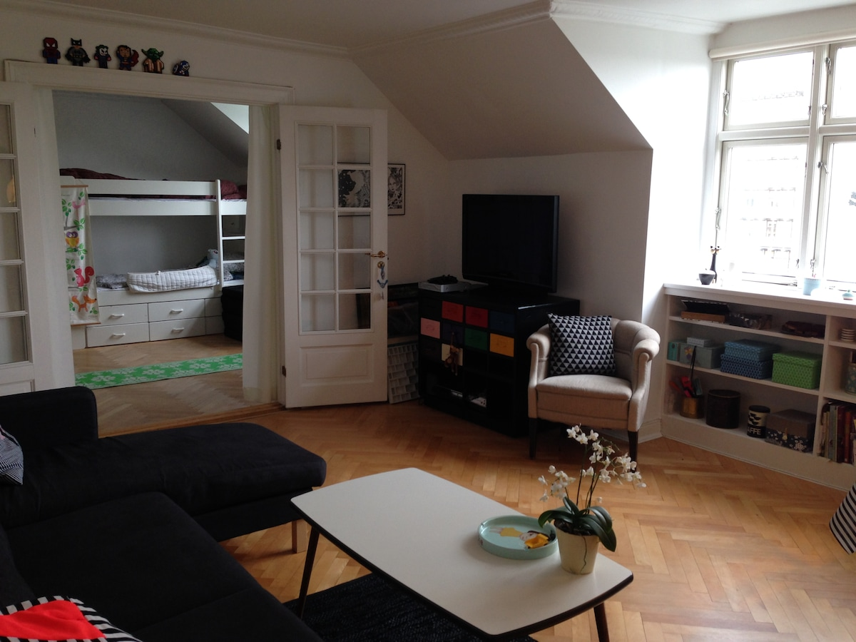Central and child-friendly flat