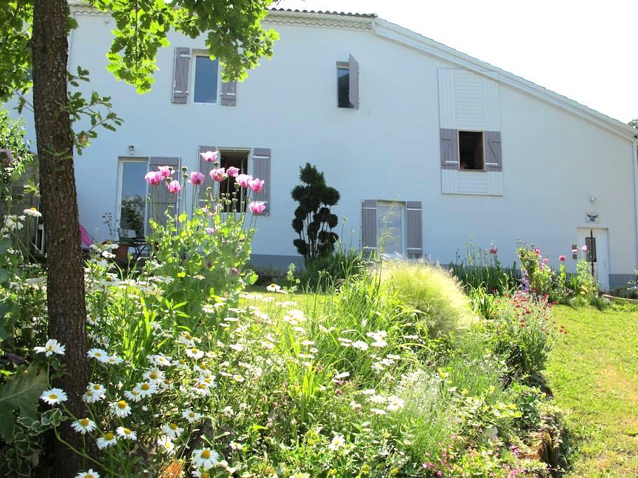 Le Jardin d'Elphe - Villeton - Huis