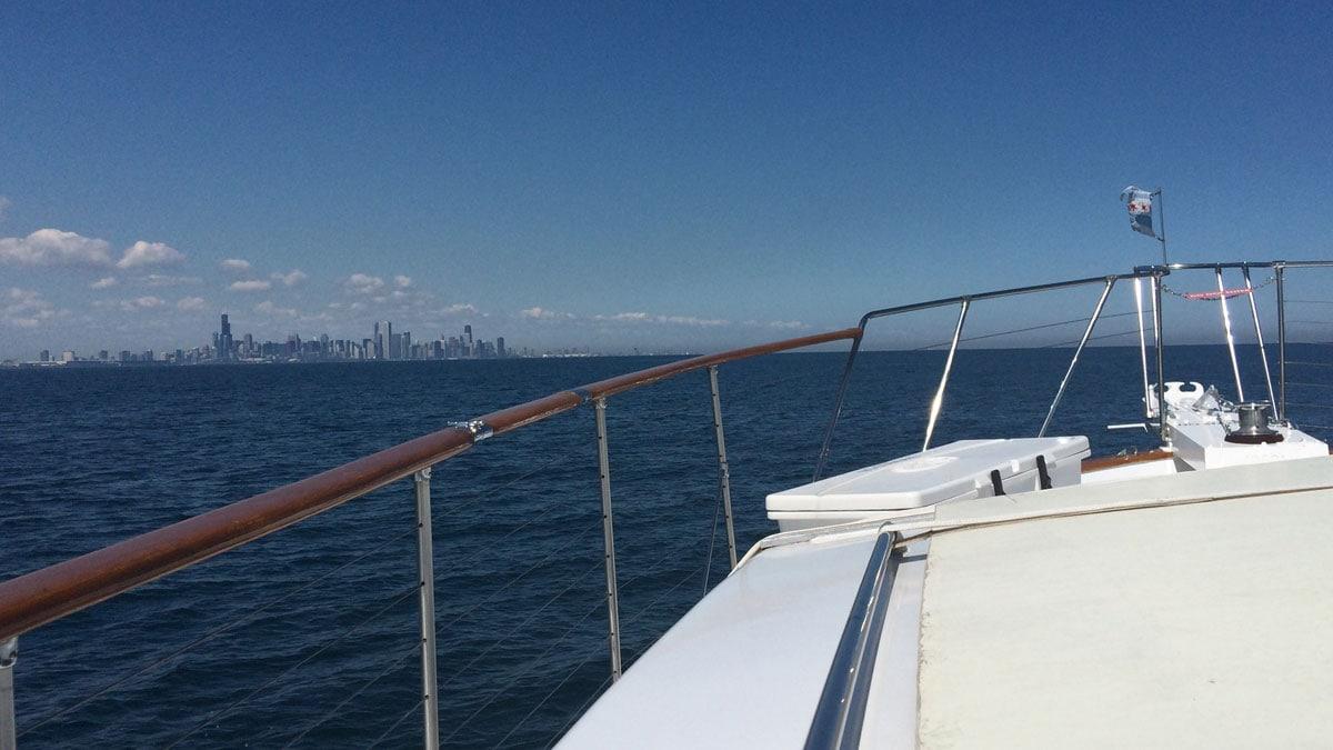 Luxury Chicago yacht rentals