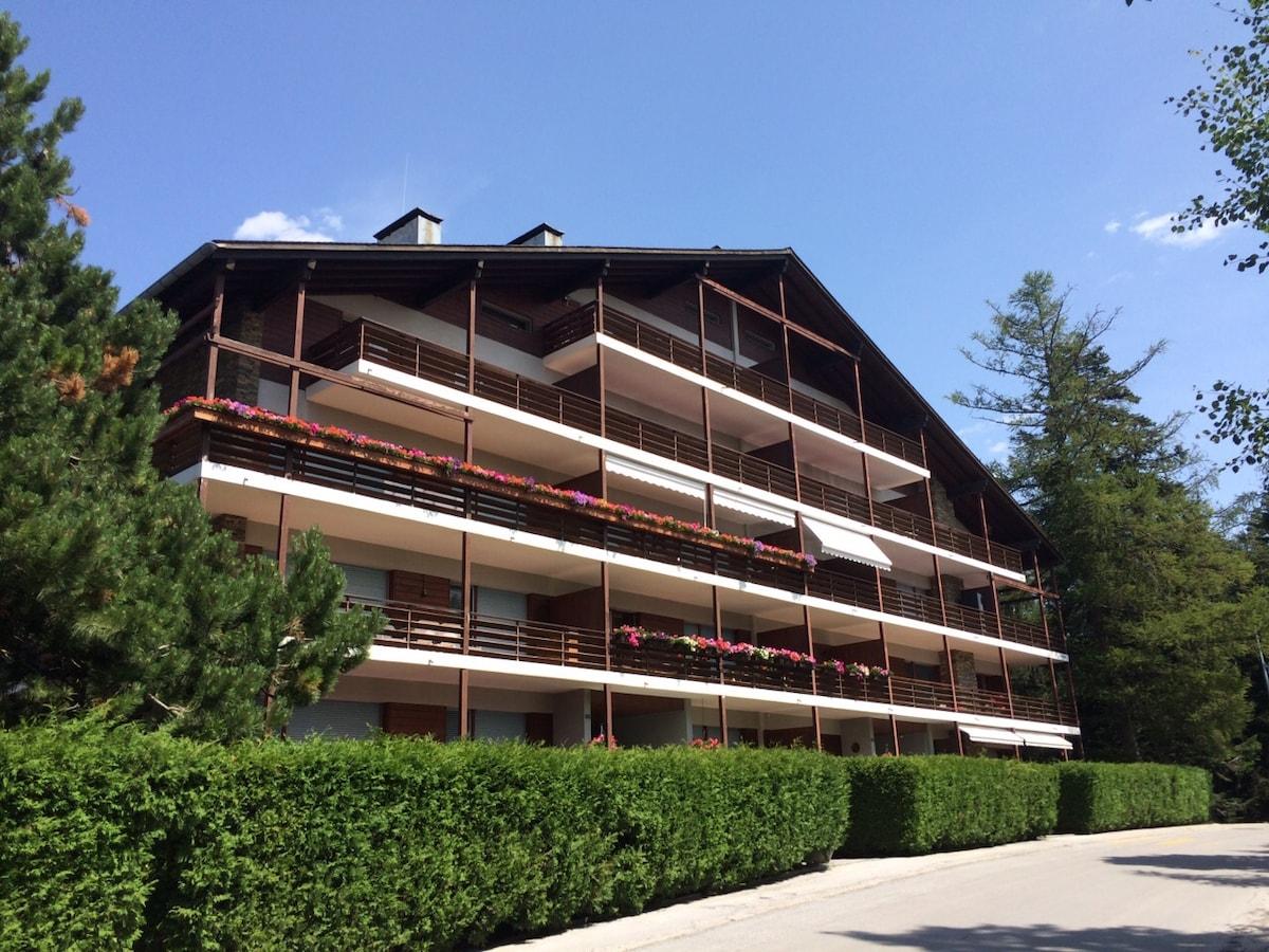 Holidays Apartment in Crans-Montana
