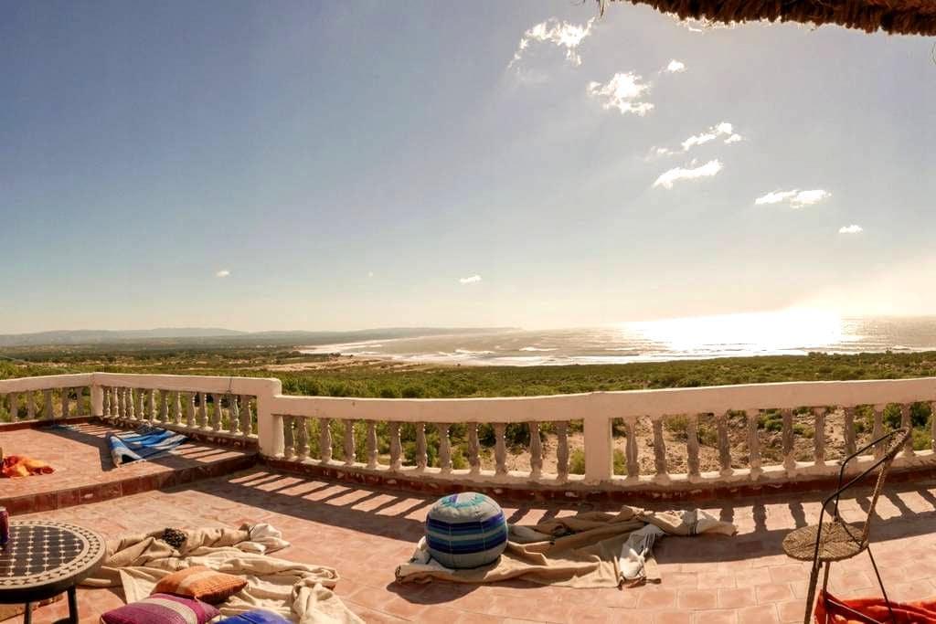 Belle maison face à l'océan - Sidi Kaouki - Rumah