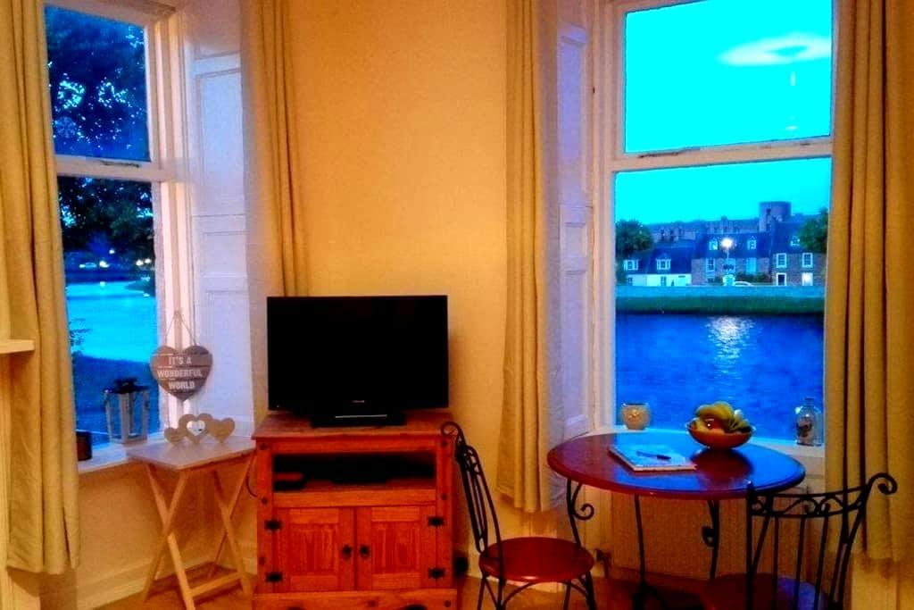Inverness City Centre-River view apartment - Inverness - Departamento