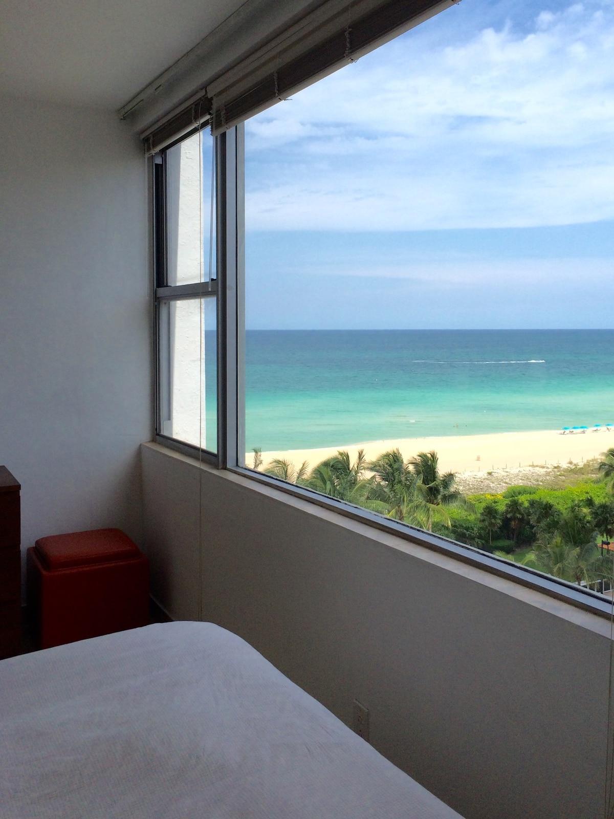 Private bedroom ocean view