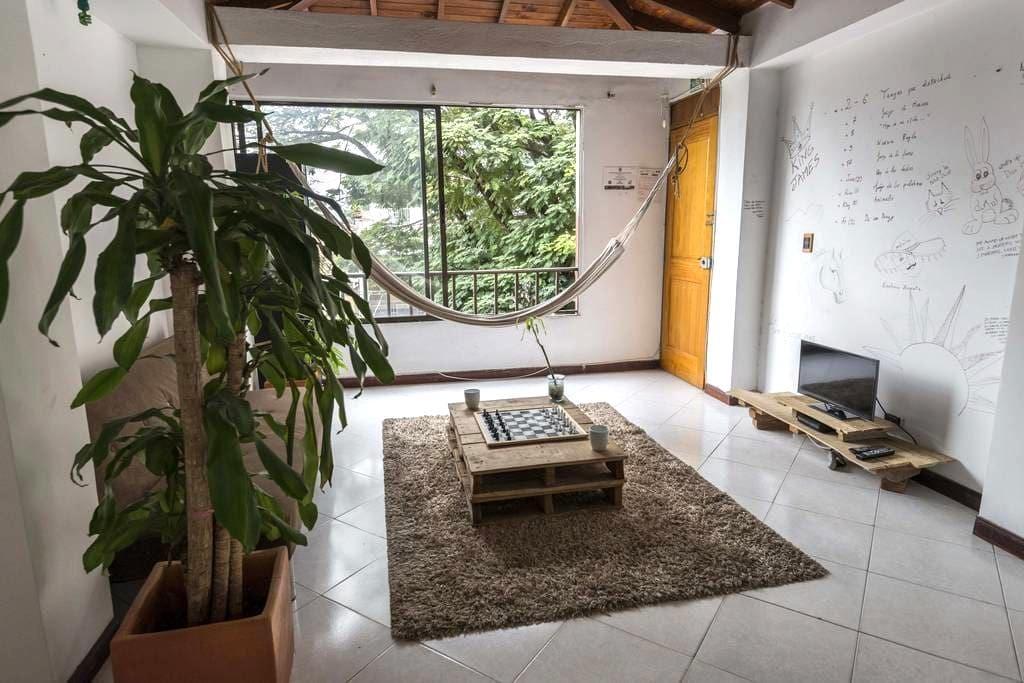 Cute room in Poblado, Manila (#3) - Medellin - Appartement