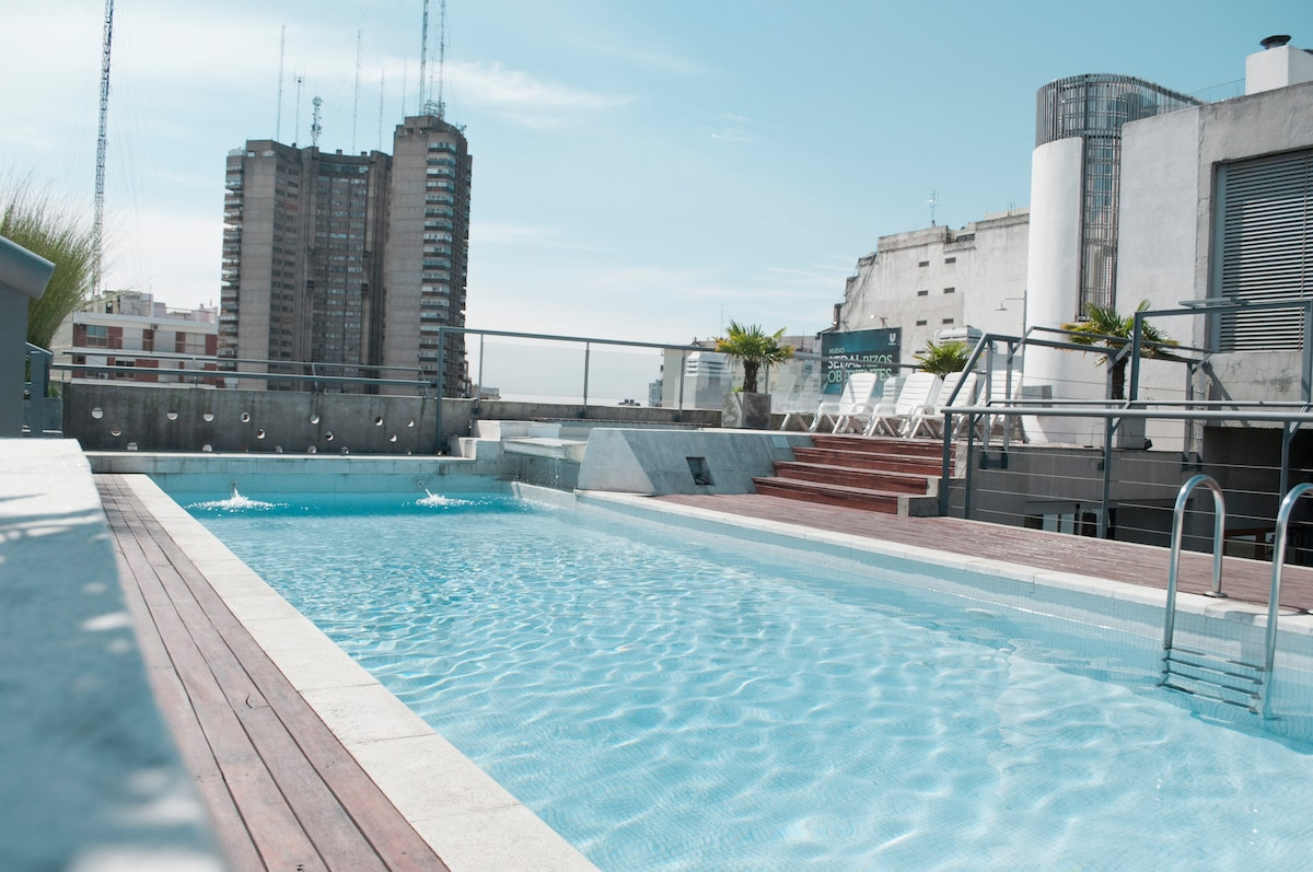 Large pool at the terrace