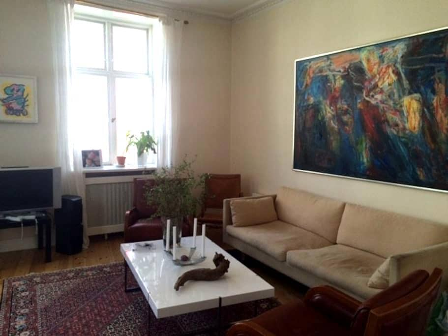 Beautiful room with bed for child - Hellerup