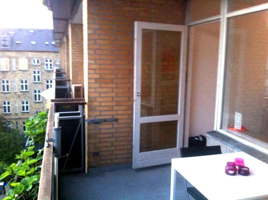 Balcony - free parking - elevator - Frederiksberg - Lägenhet