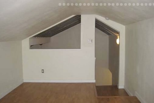 HUGE 1 bedroom + upstairs loft