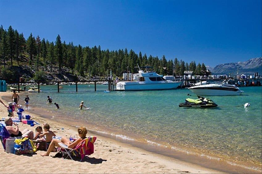 Swank Tahoe Estate in King's Beach!