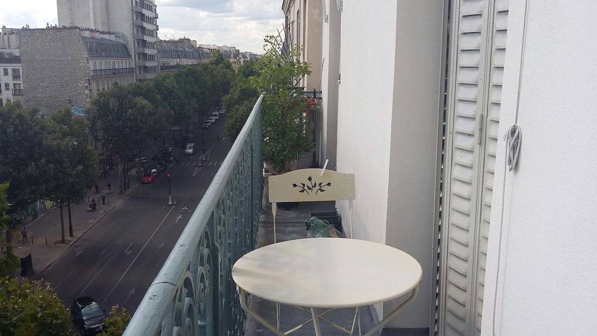 Grand appartement au coeur de Paris