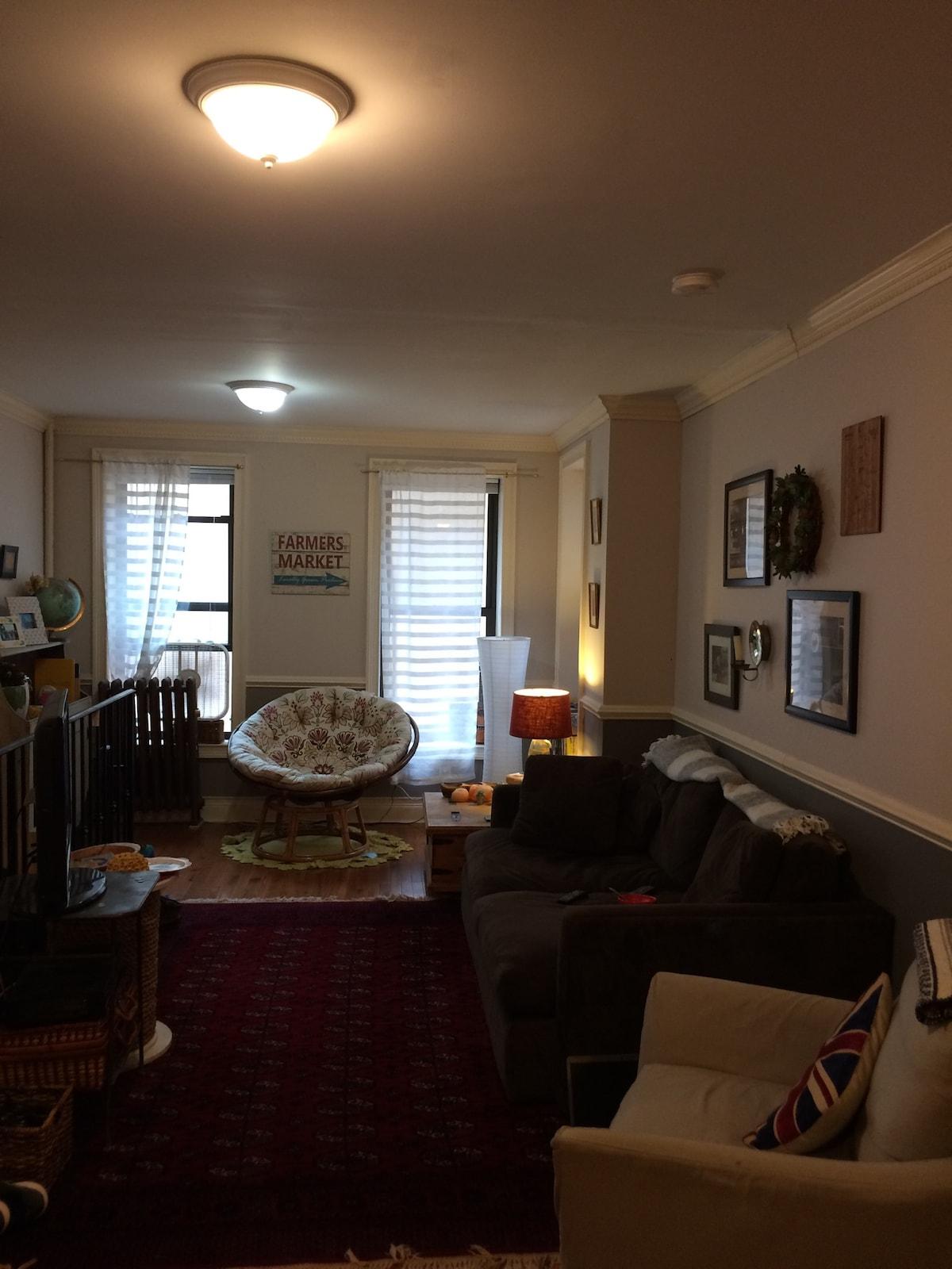 Brooklyn Barclays apartment!