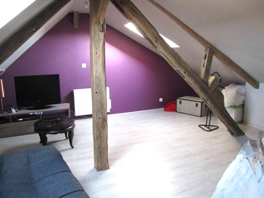 Studio refait à neuf avec poutres - Châteauneuf-en-Thymerais - Casa