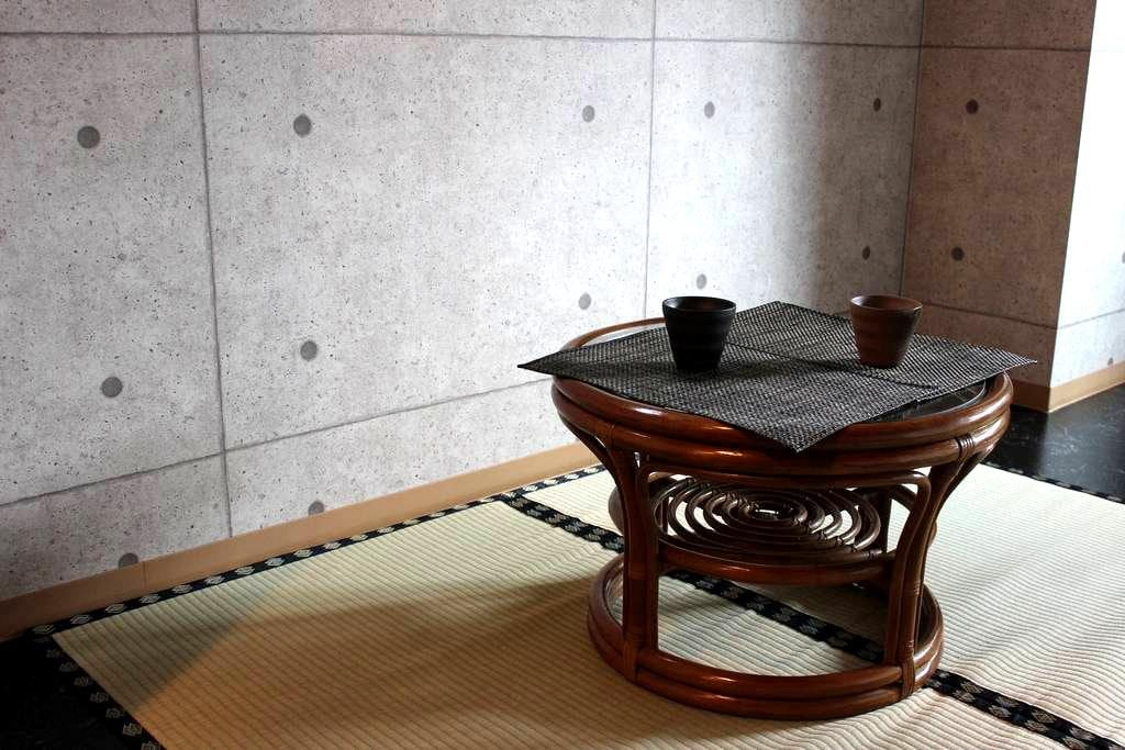 Best location!! Subway 3mins away. Free wifi & map - Kyōto-shi - Lägenhet