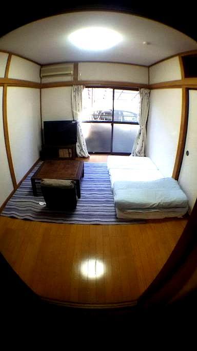 福生アパートメント103 Fussa apartment 完全個室1ルーム 風呂・トイレ・洗濯機付き - Fussa-shi