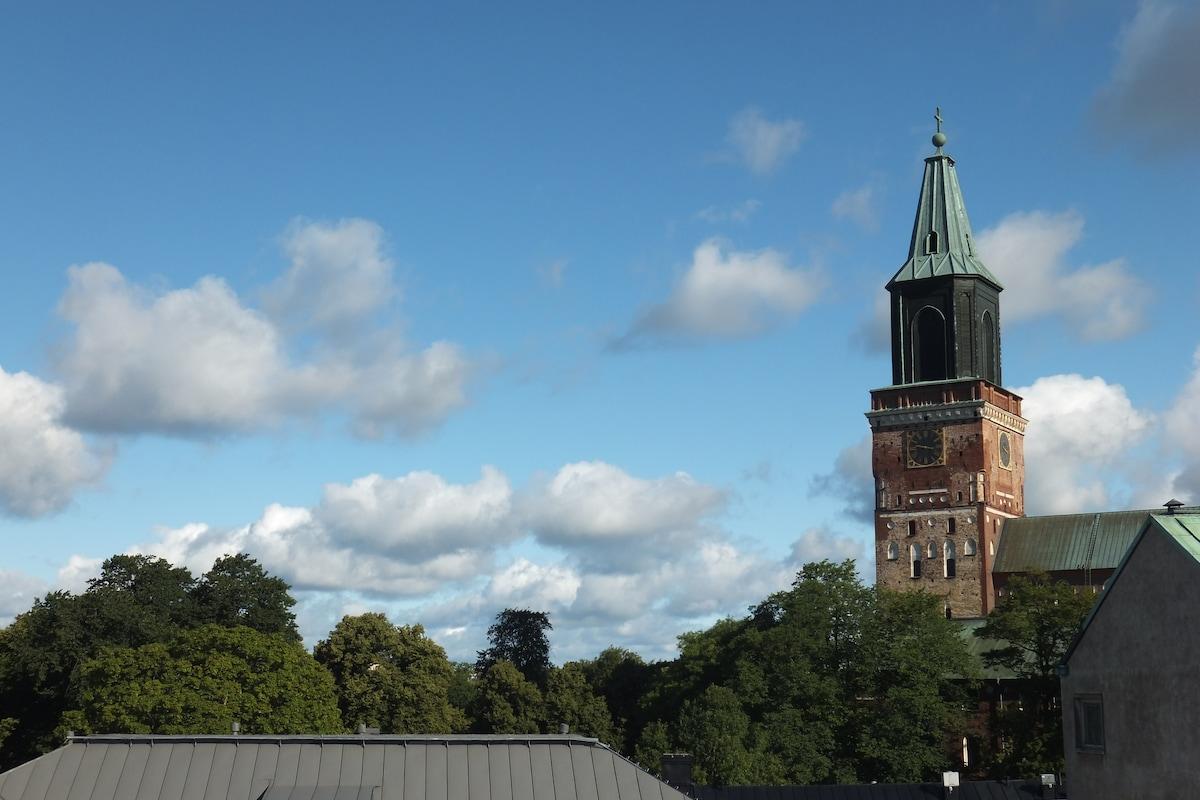 A private room in central Turku