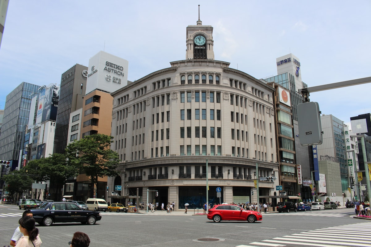 ②4 min walk from Ginza Station
