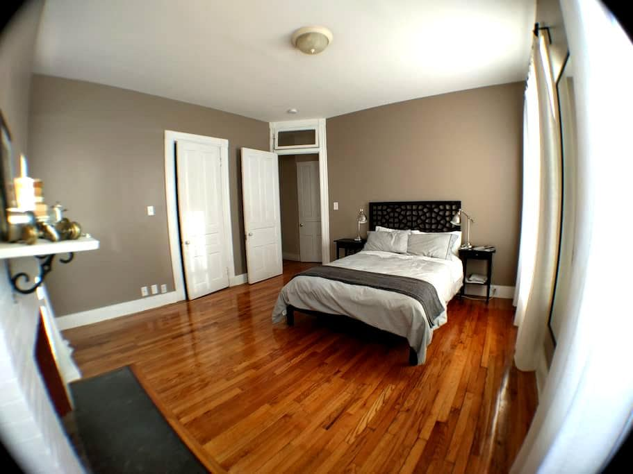 Charming Victorian near Wooster Sq - New Haven - Apartament