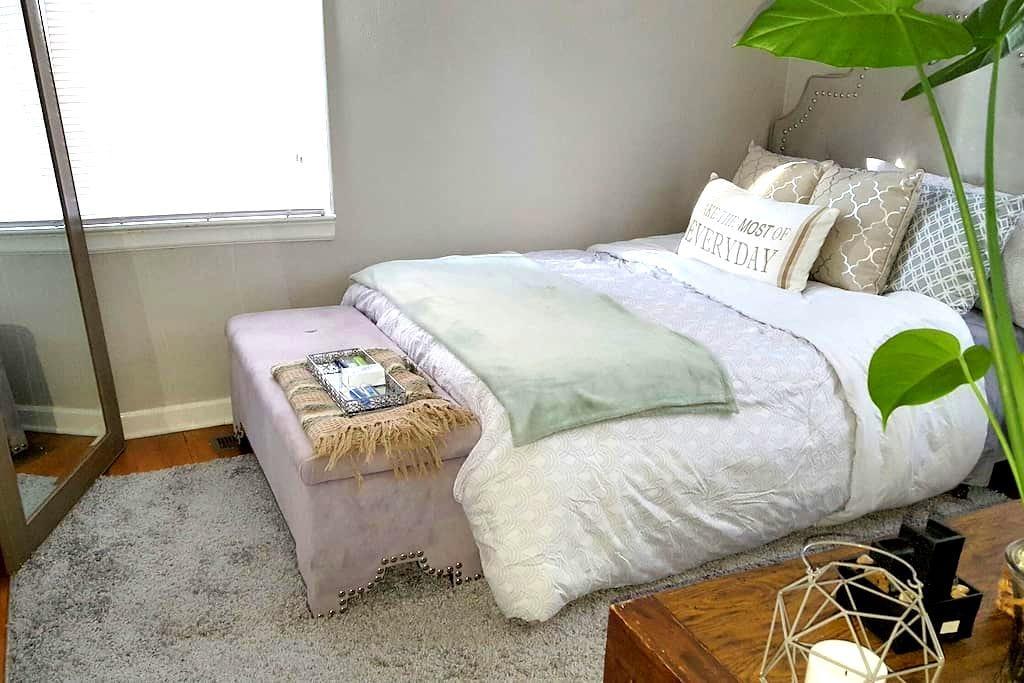 Charming Private Bedroom - 斯波坎 - 独立屋
