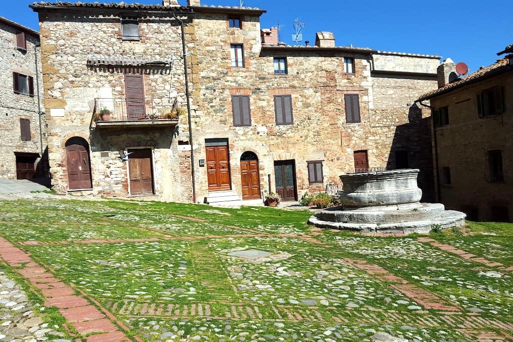 Casa Aldobrandesca in Val d'Orcia - Castiglione d'Orcia - Dům