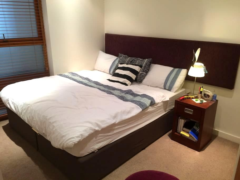 Double bedroom & private bath, Grand Canal Dock - Dublin - Lägenhet