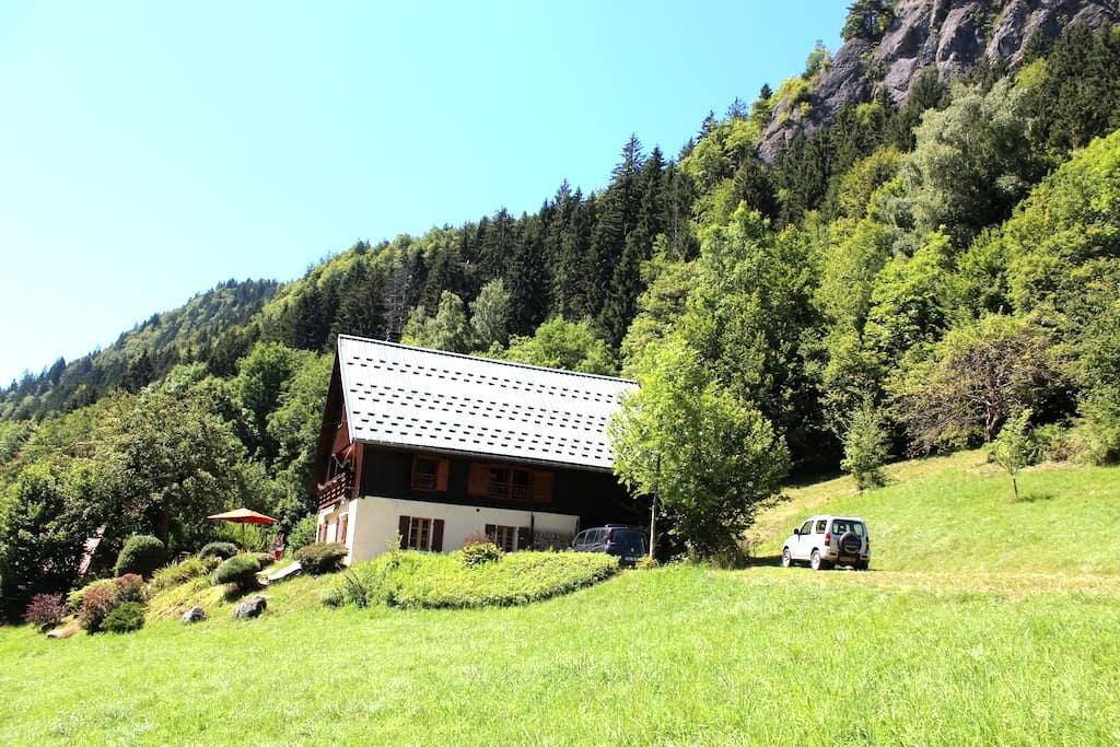 Belle ferme au coeur des Aravis - Le Bouchet-Mont-Charvin - Chalet
