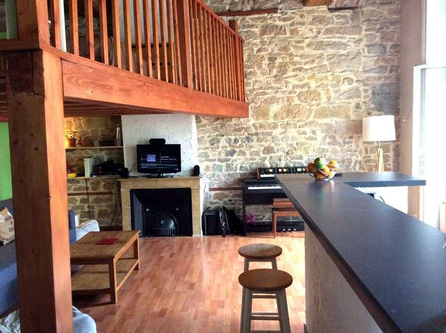 Loft cosy à deux pas du centre-ville - Lione - Loft