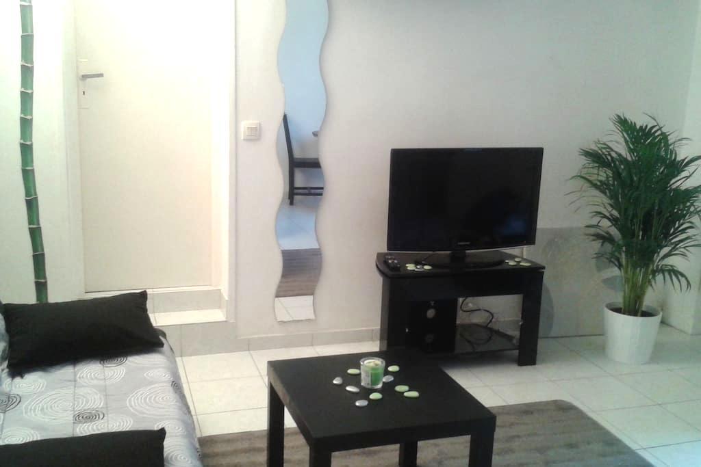 Studio calme dans le centre de Vernon - Vernon - Appartamento