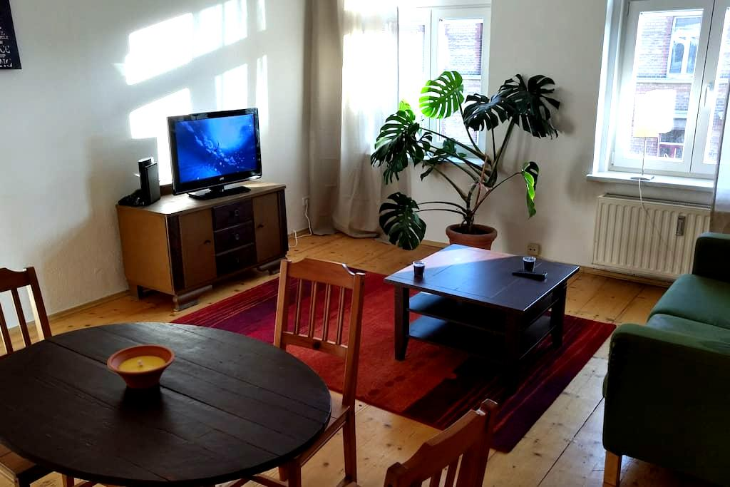 beautifull apartment 5 tram minutes from centre - Leipzig - Apartamento