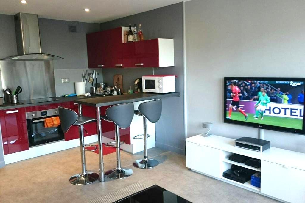 studio avec cuisine ouverte - Cauen - Pis