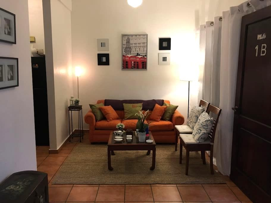 Santo Domingo Colonial - Wifi + 1-B - Santo Domingo - Lejlighed