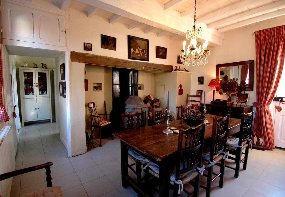 Charming luxury in rural village. - Dominois - Casa