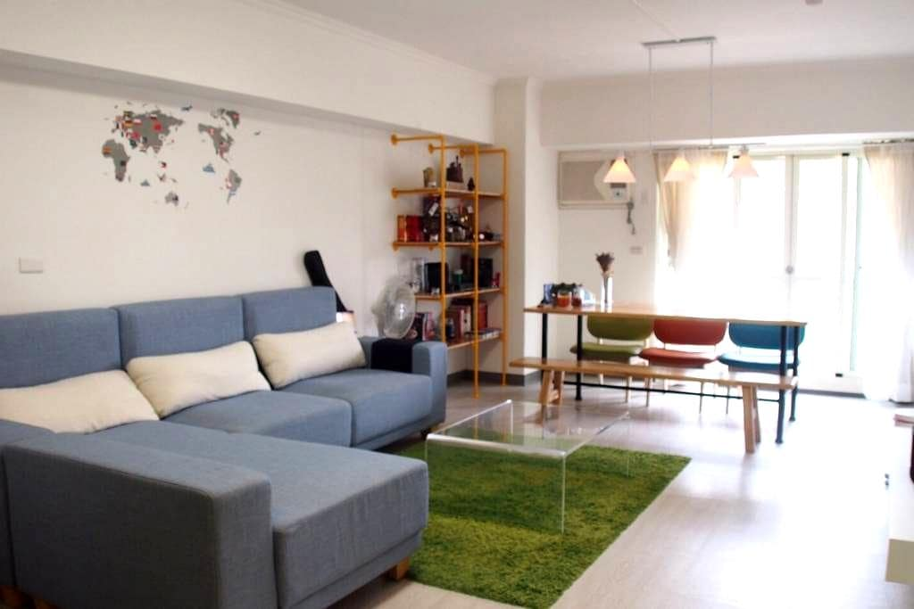 雙人床客房 - 台中市 - 公寓