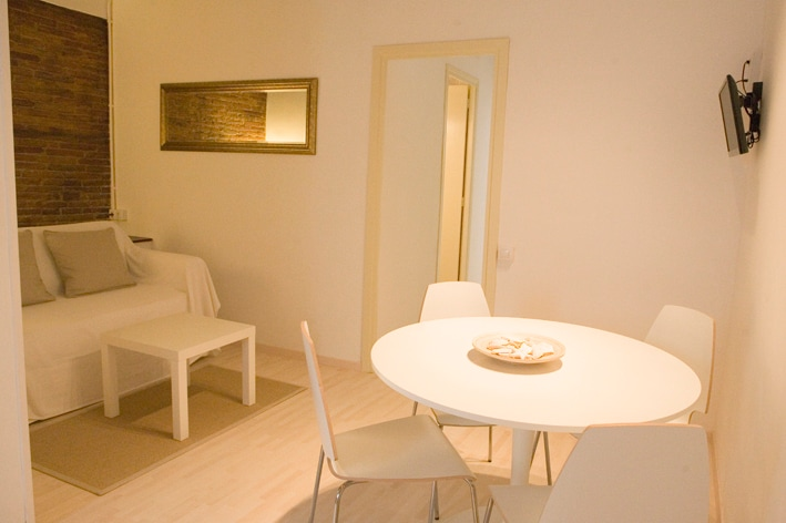 Living-dining space