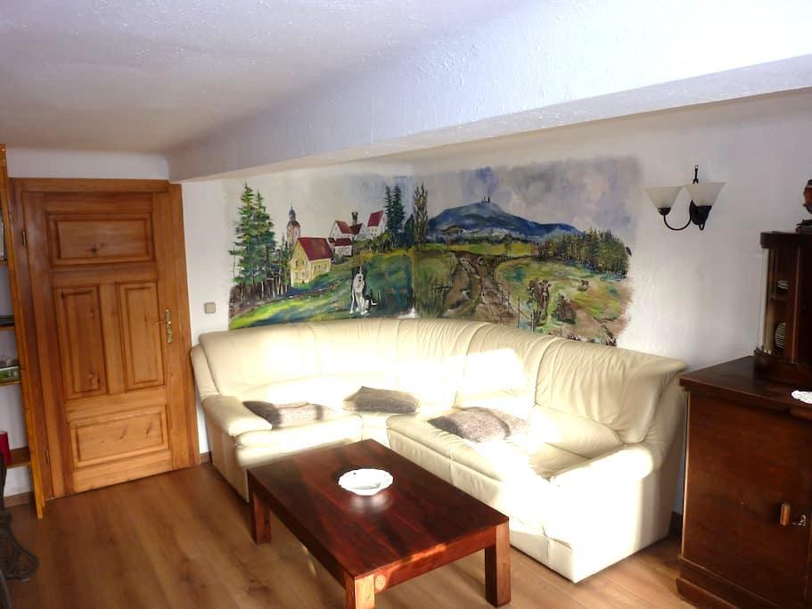 Ferienwohnung in Leina+Fahrservice - Leinatal - Квартира