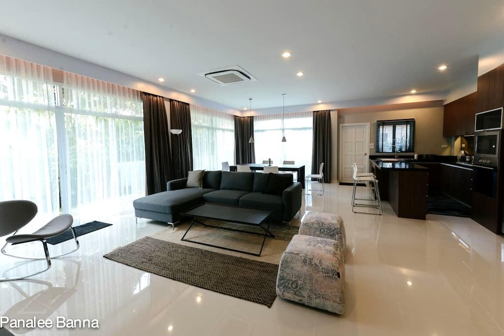 Modern home live in country side Pattaya - 芭達雅