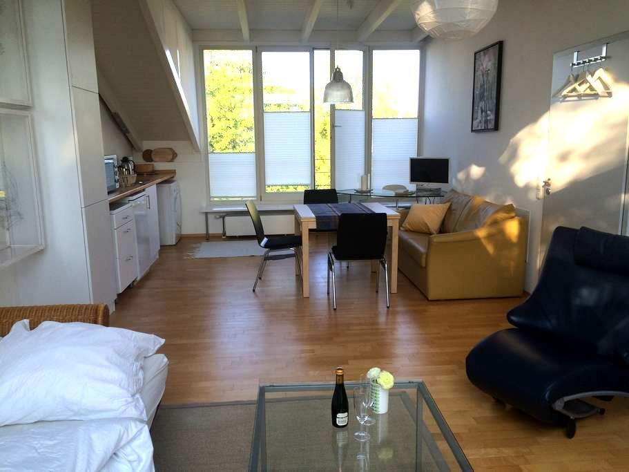 Sunny studio - view over Berlin - Berlin