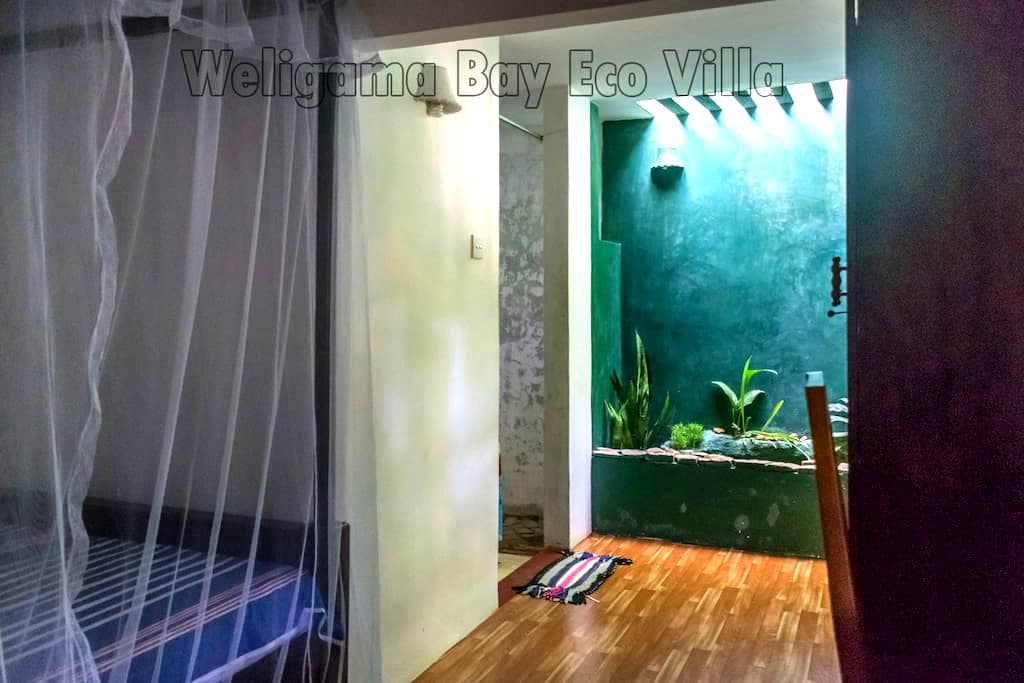 Weligama Bay Eco Villa Double Bed - Weligama - Bed & Breakfast