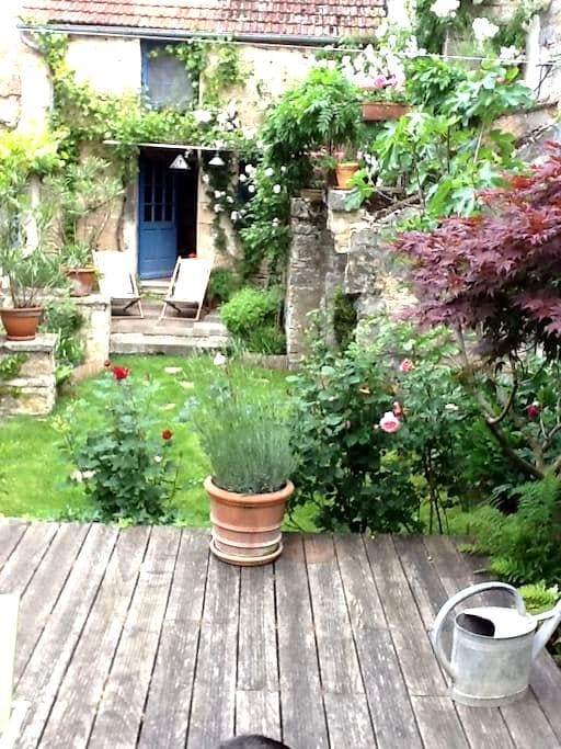 Le patio - Noyers - Haus