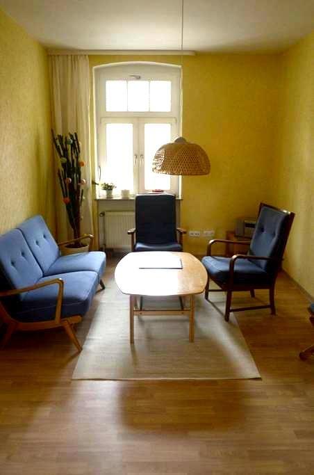 Ruhige 2-Raum-Wohnung erwartet unsere Gäste - Merseburg (Saale) - Byt