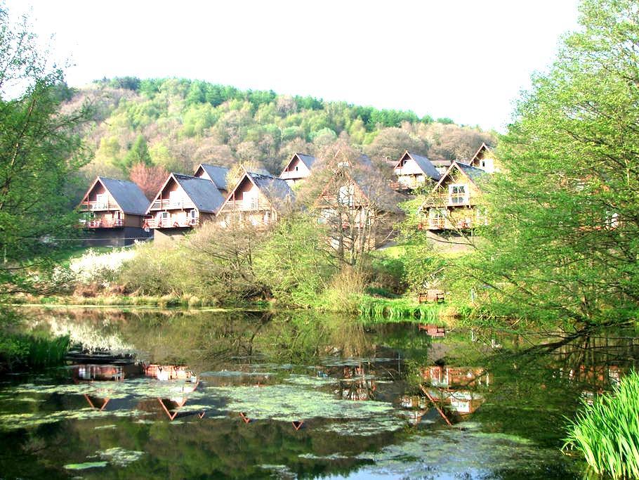 Barend Sandyhills Log Cabin. - Sandyhills
