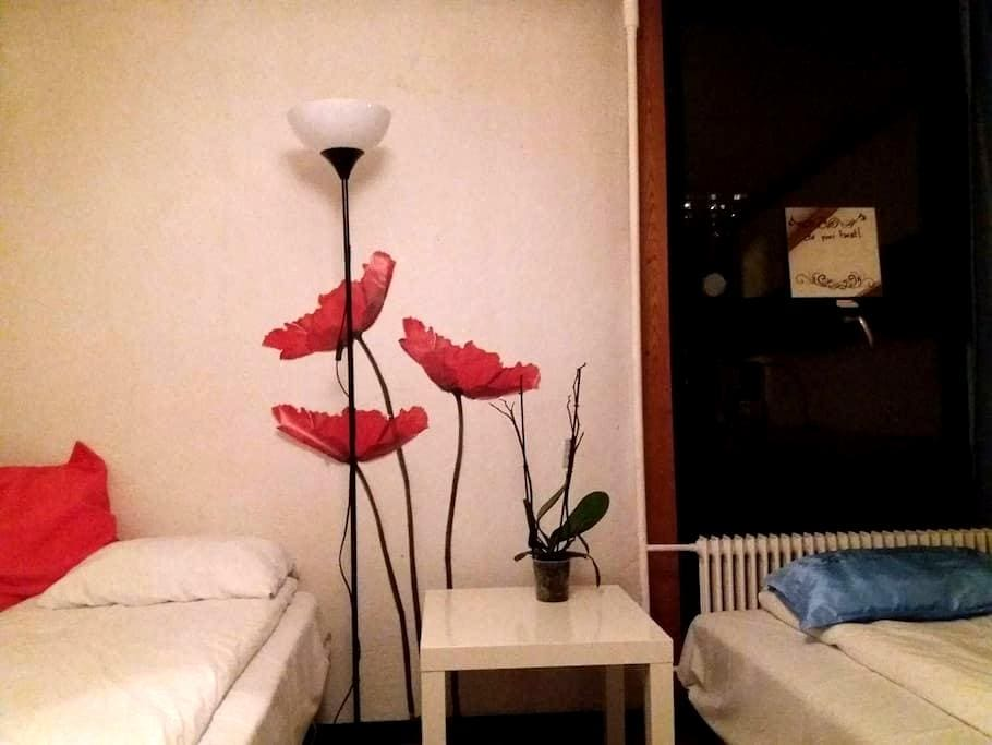 Studio with private kitchen and bathroom - Bergen - Appartement