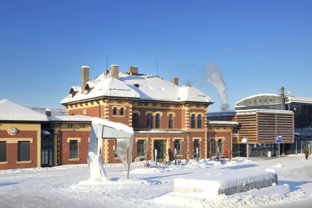 1894 - Lillehammer Jernbanestasjon - Lillehammer - Bed & Breakfast