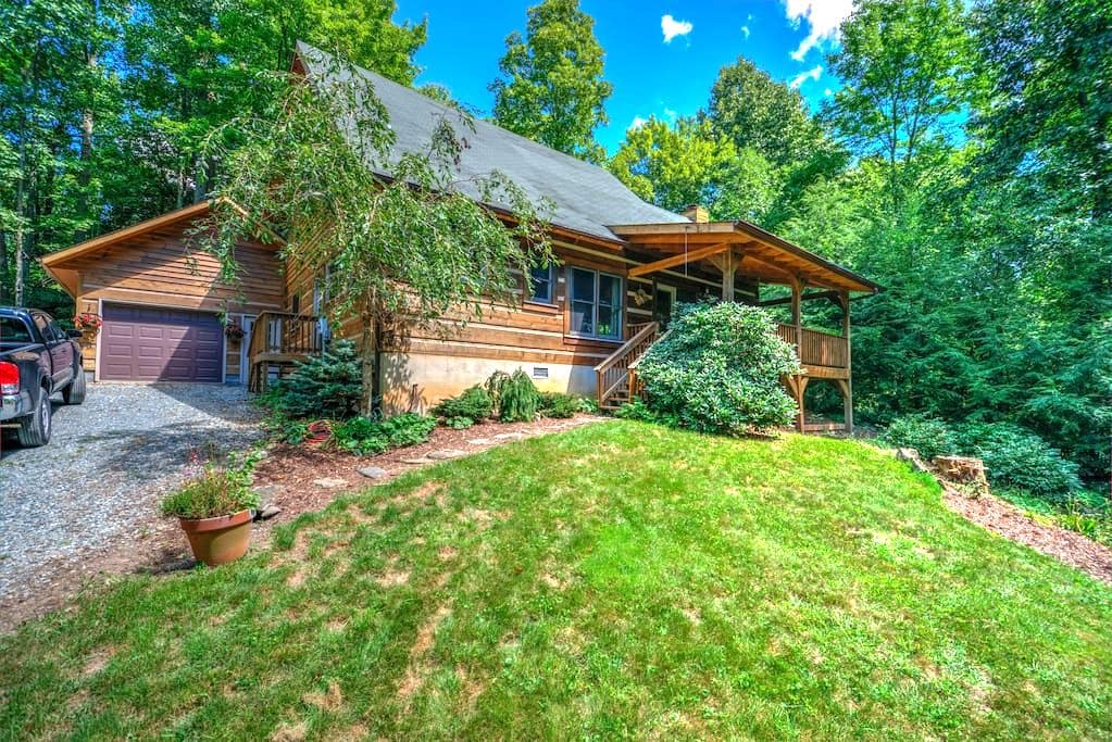 Laurelwood Log Cabin - Serenity in the Mountains - Boone