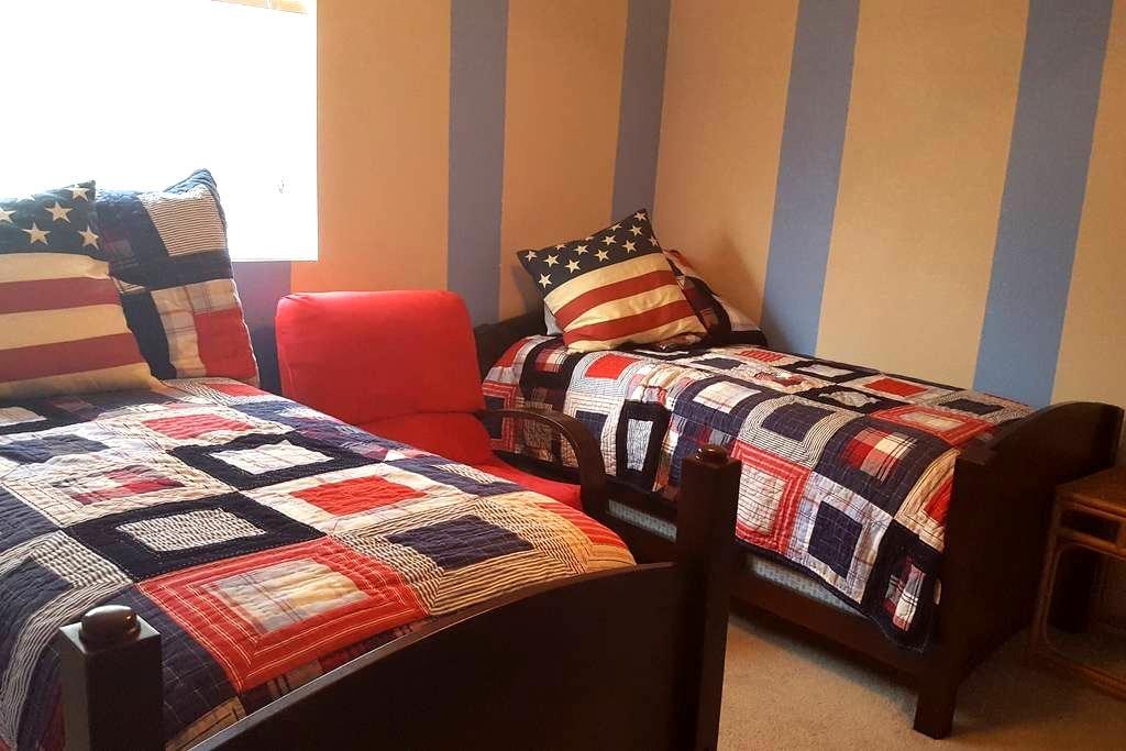Crockett Casa - Twin Room+ More - San Antonio - House